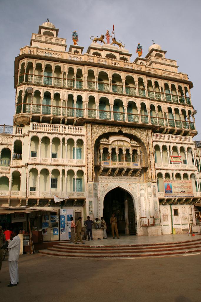 Rani Sati Temple Front Gate Jhunjhunu