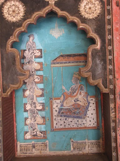 Wall Painting in Haveli