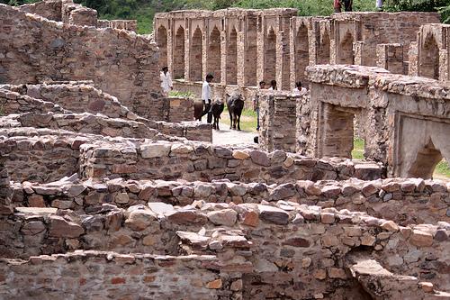 Ruins in Bhangarh