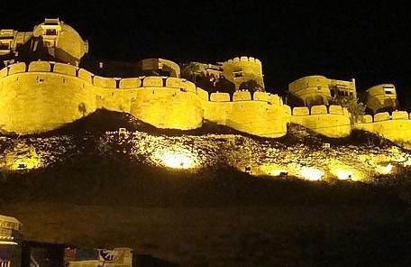 Jaisalmer Fort at Night