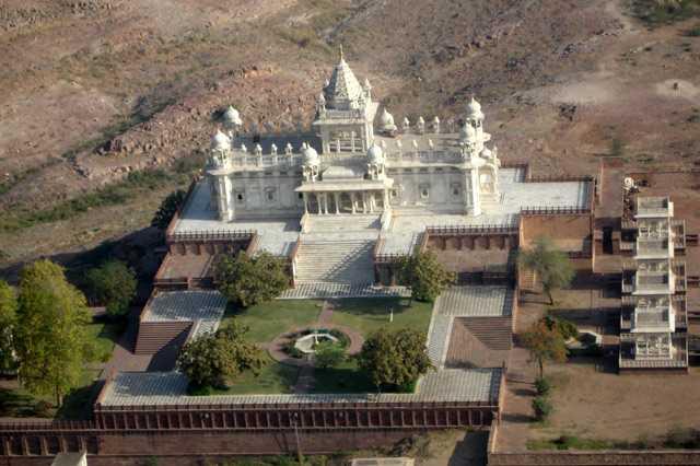 Jaswant Thada Jodhpur Skyview