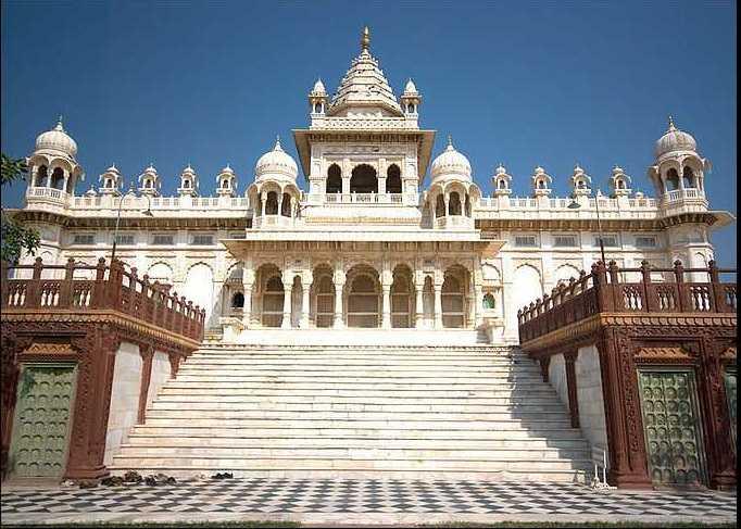 Jaswant Thada Front View Jodhpur